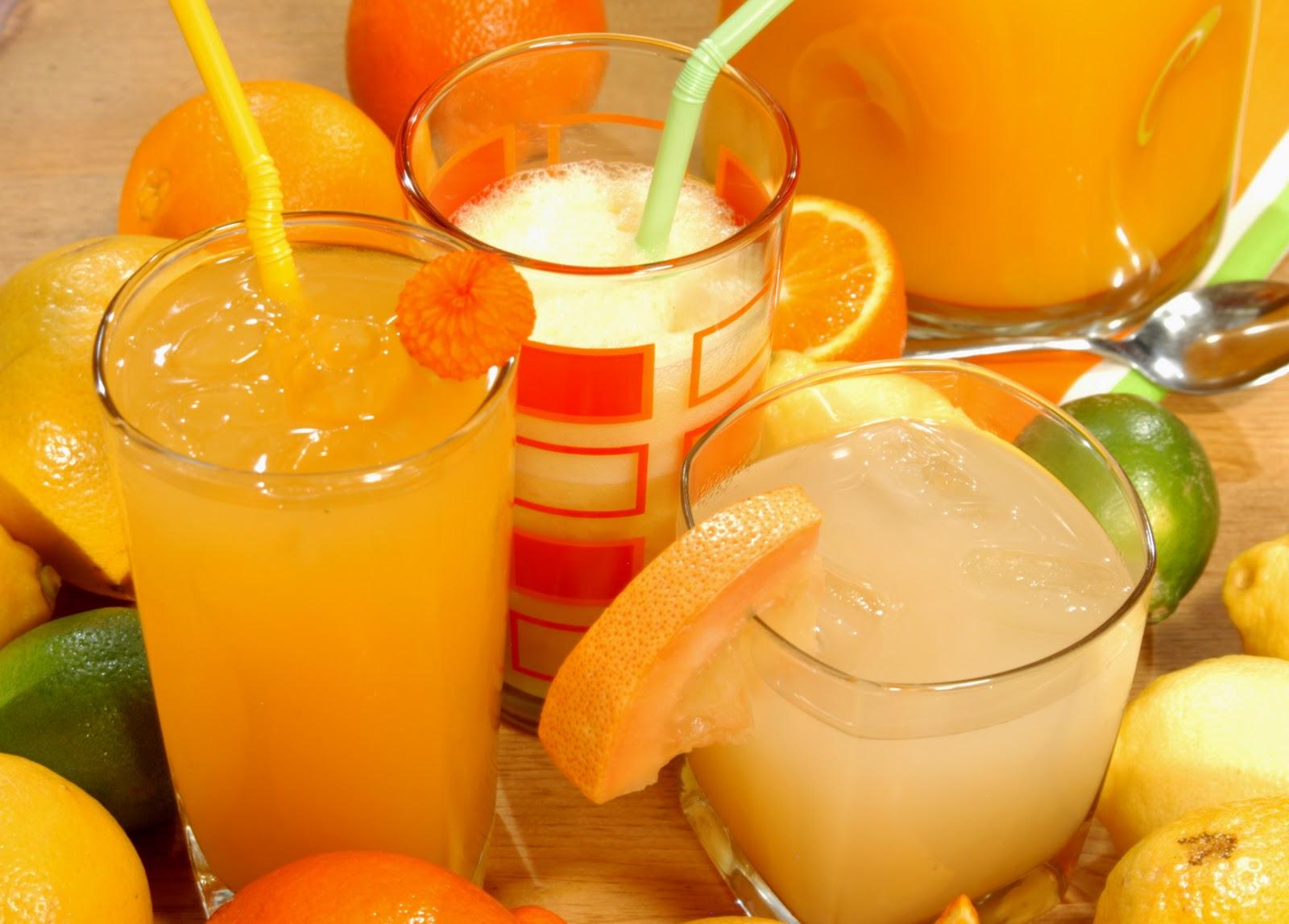 Băuturile din citrice sunt foarte sănătoase, însă trebuie consumate cu grijă.