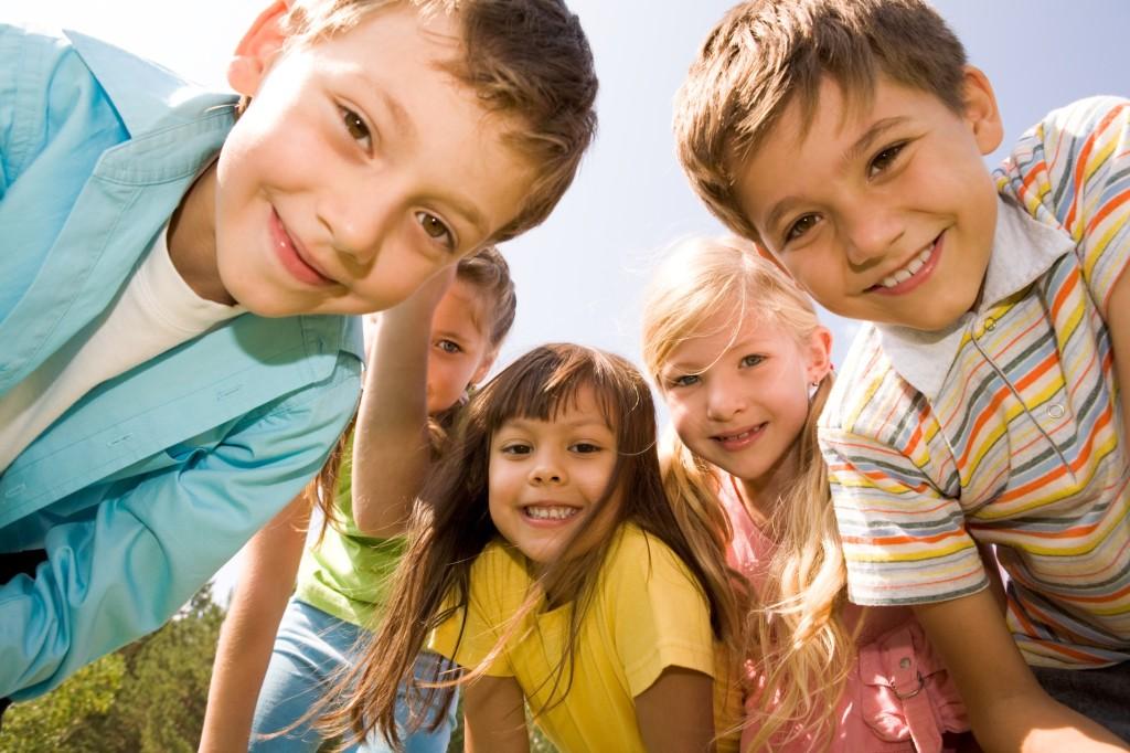 Zambetul copiilor - bucuria parintilor